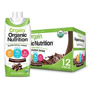 Orgain Organic Nutrition Shake