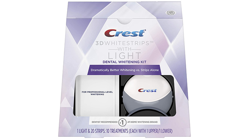 Crest 3D White Strips with Light